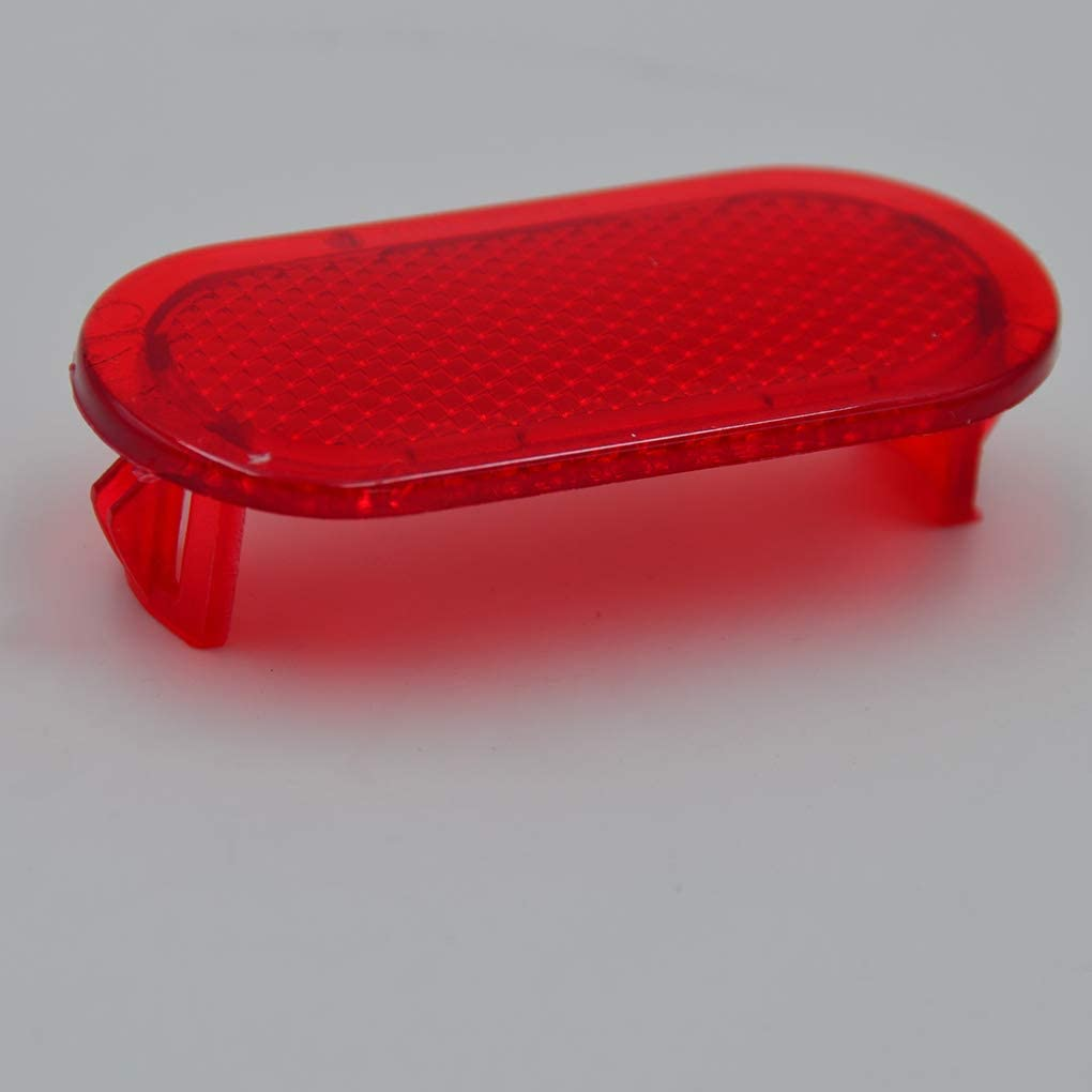 Ersatz f/ür Caddy Car Styling Red Door Innenverkleidung Warnlicht Reflektor 6Q0947419 Autoteil