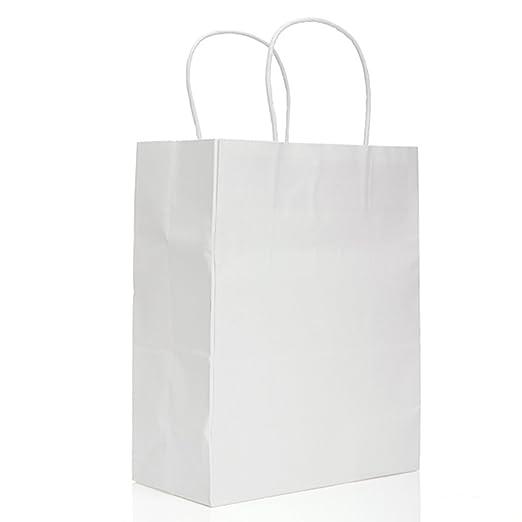 Casa de Dios 10x Blanco Bolsas papel kraft bolsa papel de ...