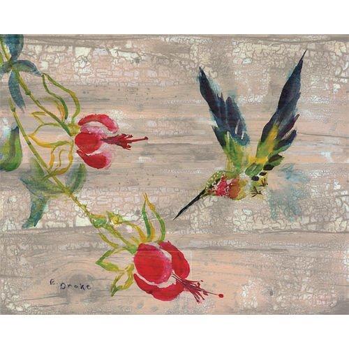 Betsy Drake Betsy's Hummingbird 16 X 20 Inch Wooden Wall Hanging price