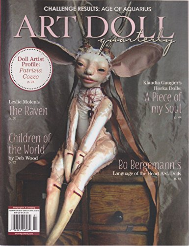 Art Doll Quarterly Magazine February/March/April 2018