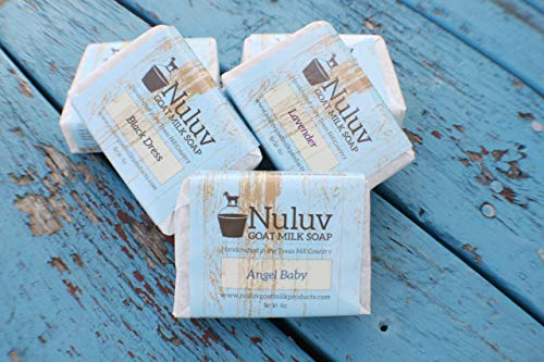Goat Milk Soaps set of 4 by Nuluv Goat Milk Products