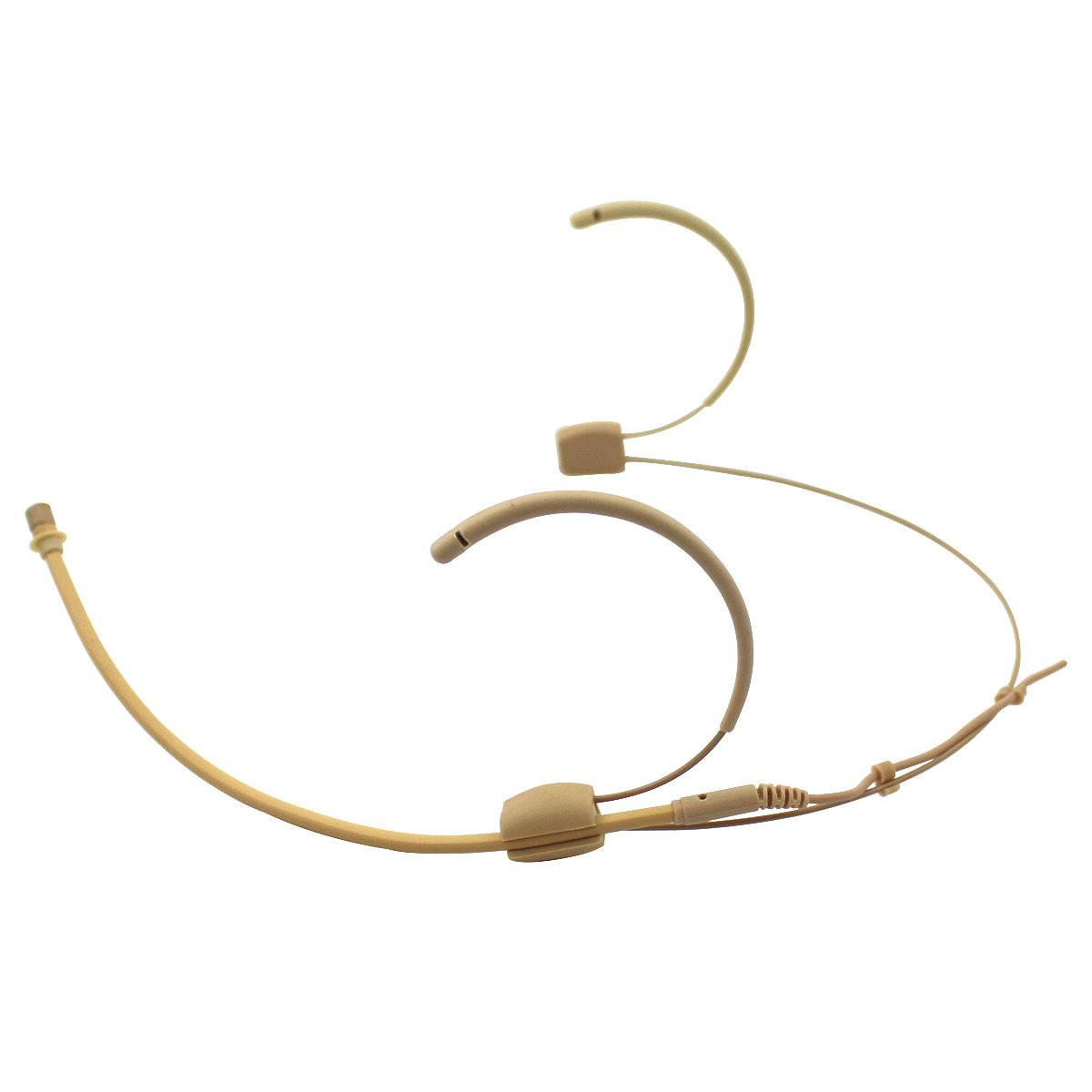 Pro Earhook Headset Headworn Omnidirectional Microphone JK MIC-J 060 Compatible with Shure Wireless Transmitter Mini XLR TA4F Plug