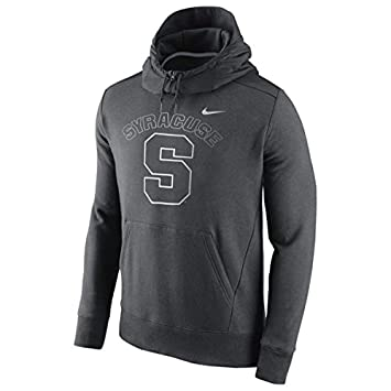 cf9d3687a5e2 Image Unavailable. Image not available for. Color  Syracuse Orange Nike  Hybrid Fleece Pullover Hoodie ...