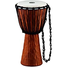 Meinl Percussion HDJ4-M Nile Series Headliner Rope Tuned Djembe, Medium: 10-Inch Diameter