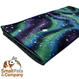 Small Pets and Company Guinea Pig Fleece Cage Liner for Midwest Habitat | Fleece Guinea Pig Bedding (Midwest, Northern Lights)