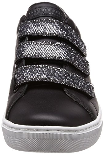 Nero Glitter Sneaker Pewter Box Prima Donna Skechers Black qC6wy57X6g