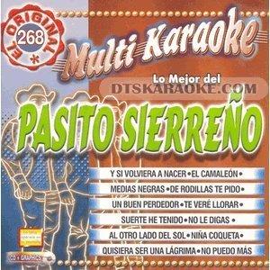 MultiKaraoke OKE-0268 Pasito Sierreno by Various