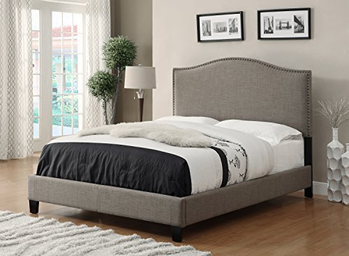 Headboard And Footboard Queen: Price Tracking For: Allassea Gold Allure Upholstered Bed