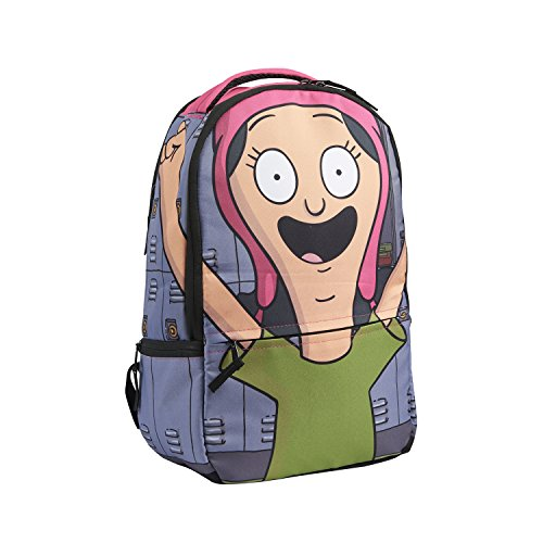Bob's Burgers Louise Belcher Backpack, Multi, One Size