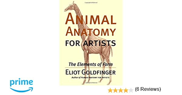 Animal Anatomy For Artists The Elements Of Form Eliot Goldfinger