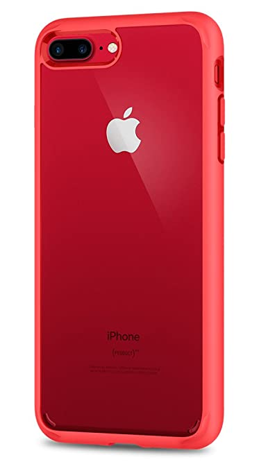 97 opinioni per Cover iPhone 7 Plus, SPIGEN® Custodia [Ultra Hybrid] with Reinforced Camera