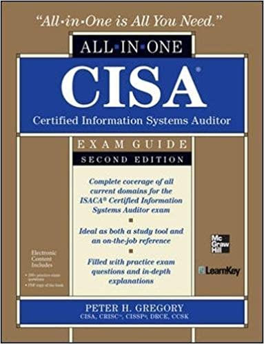 Amazon cisa certified information systems auditor all in one cisa certified information systems auditor all in one exam guide 2nd edition 2nd edition fandeluxe Image collections