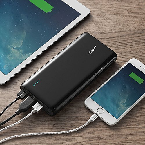 Anker Astro E7 26800mAh Ultra-High Capacity 3-Port 4A Compact Portable Charger External Battery Power Bank with PowerIQ Technology for iPhone, iPad, Nintendo Switch and More by Anker (Image #6)