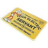 玄関マット おしゃれ コイルマット FEPC Lサイズ 60×90cm ラバーマット フロアマット アメリカ雑貨 アメリカン雑貨 (並行輸入品)