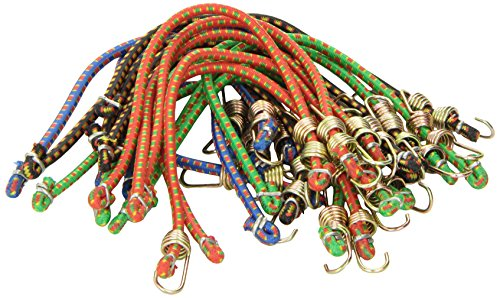 "Highland (9052000) 10"" Mini Bungee Cord - 20 Piece"