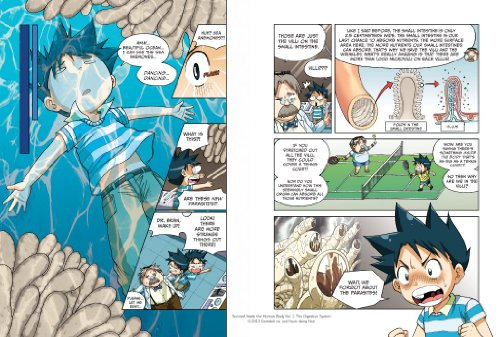 Survive! Inside the Human Body, Vol. 1: The Digestive System by No Starch Press (Image #6)