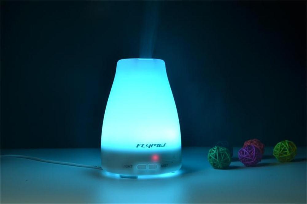 Amazon.com: Aromatherapy Essential Oil Diffuser - FLYMEI 100ml ...