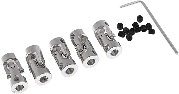 RC Boat Metal Cardan Joint Gimbal Couplings Universal Joint AccessoriescjaFDFH