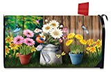 Briarwood Lane Spring Jubilee Floral Magnetic Mailbox Cover Watering Can