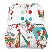 Limited Edition: Flip: One-Size Snap Closure Diaper Cover (Play)