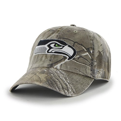 best service 454dc aa148 NFL Seattle Seahawks  47 Brand Big Buck Clean Up Adjustable Hat (Realtree  Camouflage, One Size) - Buy Online in Oman.   Sports Products in Oman - See  Prices ...