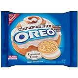 Oreo Cinnamon Bun Flavored Sandwich Cookies, 12.2 Ounce (2 PACK)