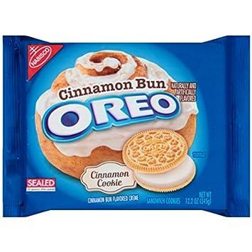 Oreo Cinnamon Bun Flavored Sandwich Cookies 12 2 Ounce 2 Pack