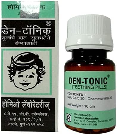R.S.Inc Den-Tonic (Teething Peel) for small baby from india (3x10 gm)