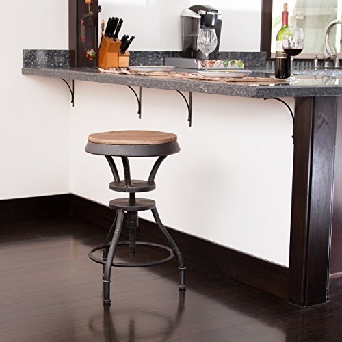 ign Adjustable Height Bar Stool ()