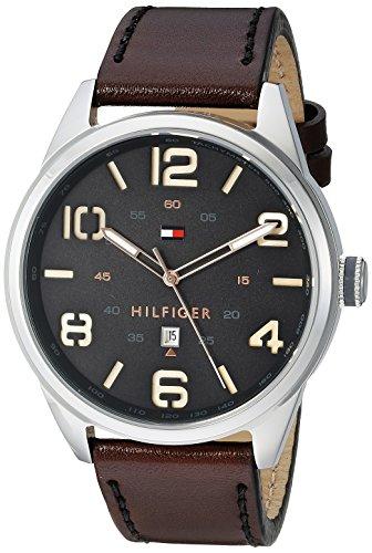 Tommy Hilfiger Men's 1791157 Analog Display Quartz Brown Watch