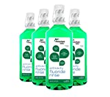 Mountain Falls Anticavity Fluoride Rinse, Mint, Compare to ACT, 18 Fluid Ounce (Pack of 4)