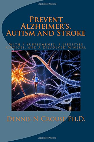Download Prevent Alzheimer's, Autism and Stroke: With 7-Supplements, 7-Lifestyle Choices, and a Dissolved Mineral PDF