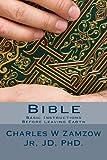 Bible, Charles Zamzow, 1492245054
