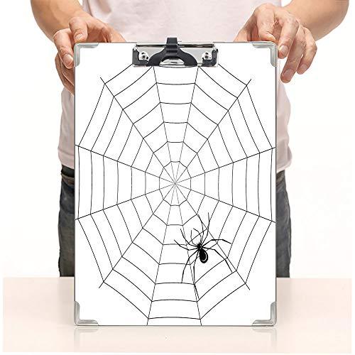 Custom Printing Clipboard,Hardboard Clipboard Pack,Thread Crawly Malicious Bug Halloween Character,Office School Workers Business use]()