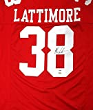 Signed Marcus Lattimore Jersey - Red - PSA/DNA Certified - Autographed NFL Jerseys