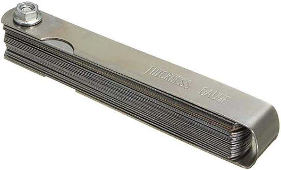 LIXIAQ1 Universal Measuring Width Feeler Gauge Thickness Standard Metric Offset Tool