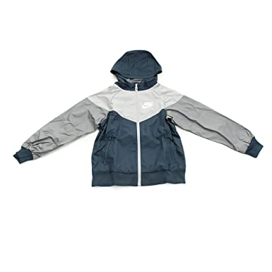 949749e5 NIKE Kids Sportswear Windrunner Jacket (Small Youth Boys - Big Kids) Full  Zip 850443