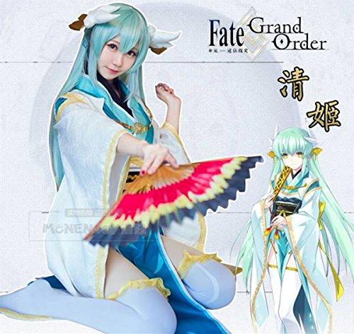 「ノーブランド品」コスプレ衣装+靴下 Fate/Grand Order 清姫