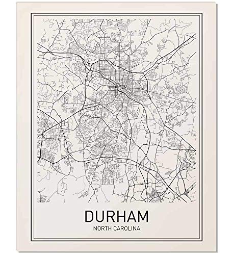 - Durham Poster, Durham Map, Map of Durham, City Map Posters, Modern Map Art, City Prints, Map Wall Decor, Minimal Print, Map Poster, City Poster, City Map Wall Art, Minimalist Posters, 8x10