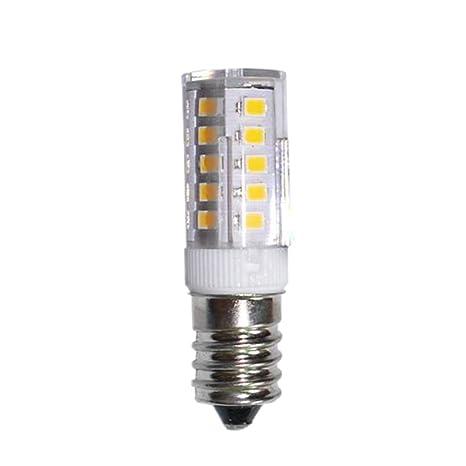 Gazechimp 5W E14 220V Bombilla LED de Lámpara Forma de Maíz Bulbo de Iluminación Blanco/