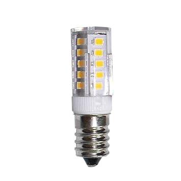 Gazechimp 5W E14 220V Bombilla LED de Lámpara Forma de Maíz Bulbo de Iluminación Blanco/Blanco Caliente - Blanco Caliente 3000k: Amazon.es: Hogar