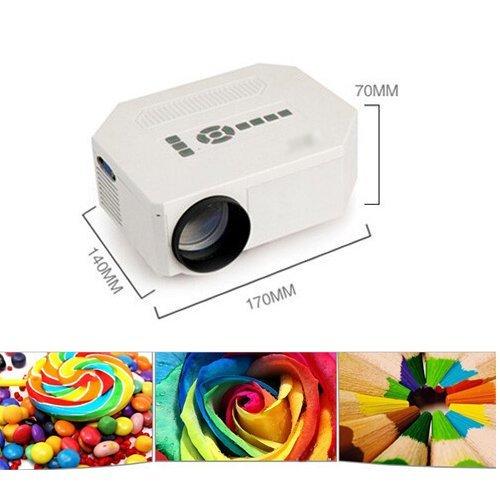 7 opinioni per Videoproiettore Proiettore Portatile Risoluzione: 1920x1080 150 lumen HDMI USB