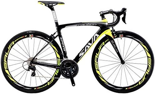 SAVADECK HERD6.0 700C Bicicleta de Carretera de Fibra de Carbono ...