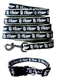 San Diego Padres Nylon Collar and Matching Leash for Pets (MLB Official by Pets First) Size Large