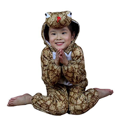 Vicwin-one Kids Unisex Animal Homewear Pajamas Onesies Performance Costume Cosplay (L Height:47