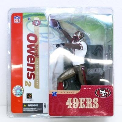 McFarlane Toys NFL Sports Picks Series 10 Action Figure Terrell Owens by McFarlane NFL Football Sportspicks Series 10