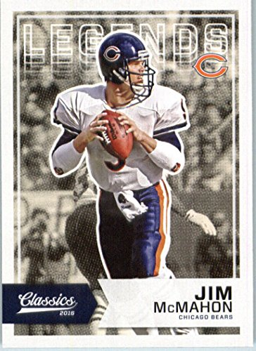 2016 Panini Classics #196 Jim McMahon Chicago Bears Football Card (Jim Mcmahon Chicago Bears compare prices)