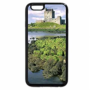 iPhone 6S Plus Case, iPhone 6 Plus Case, old castle by a river with moss covered rocks