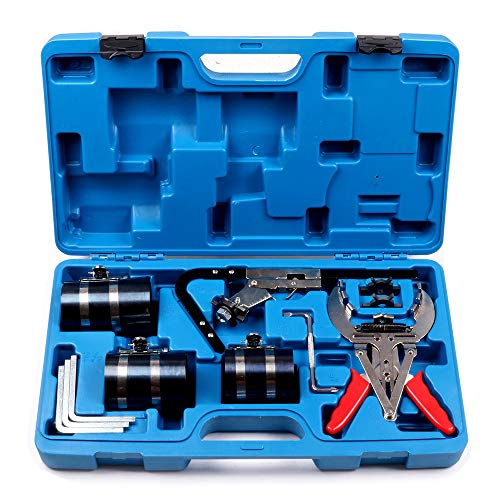 - ECCPP Piston Ring Service Set Cleaning Ring Expander Compressor Tool Set Fit for Auto Engine Motor