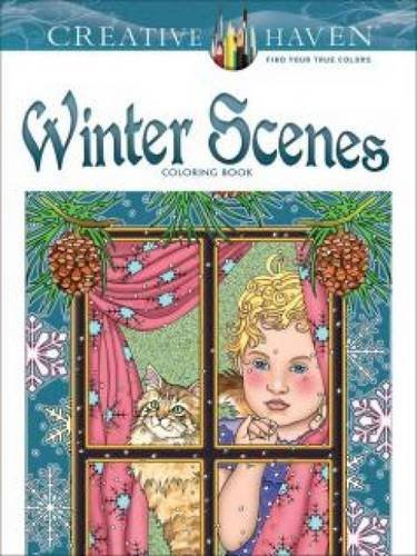 Creative Haven Winter Scenes Coloring Book (Adult Coloring) (Adult Christmas)